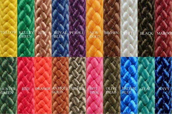 wick rope, Gulf Rope & Cordage, Inc  Fairhope, AL MFP Colors